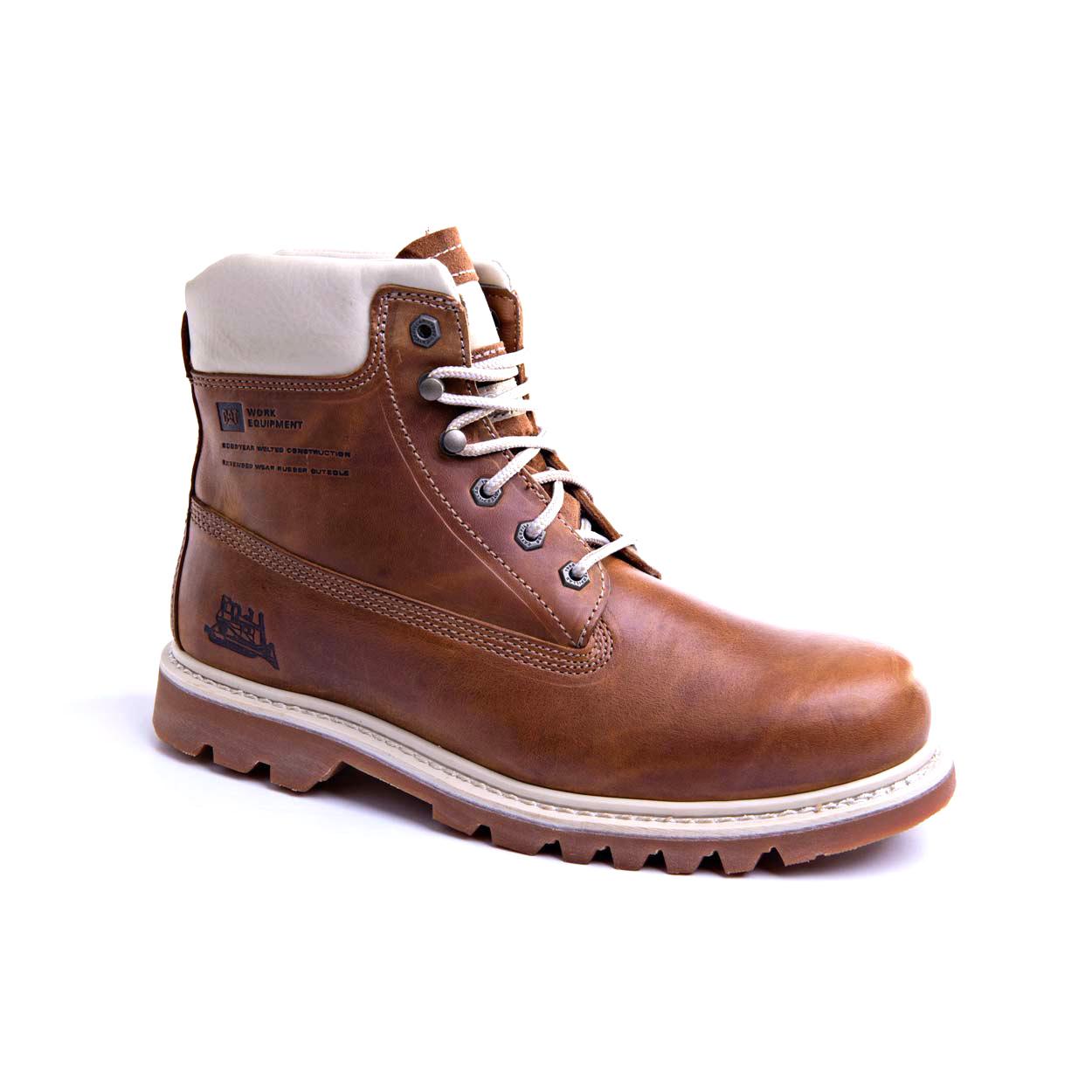 7699f7aa Bruiser - Golden brown - Mens - CAT Footwear