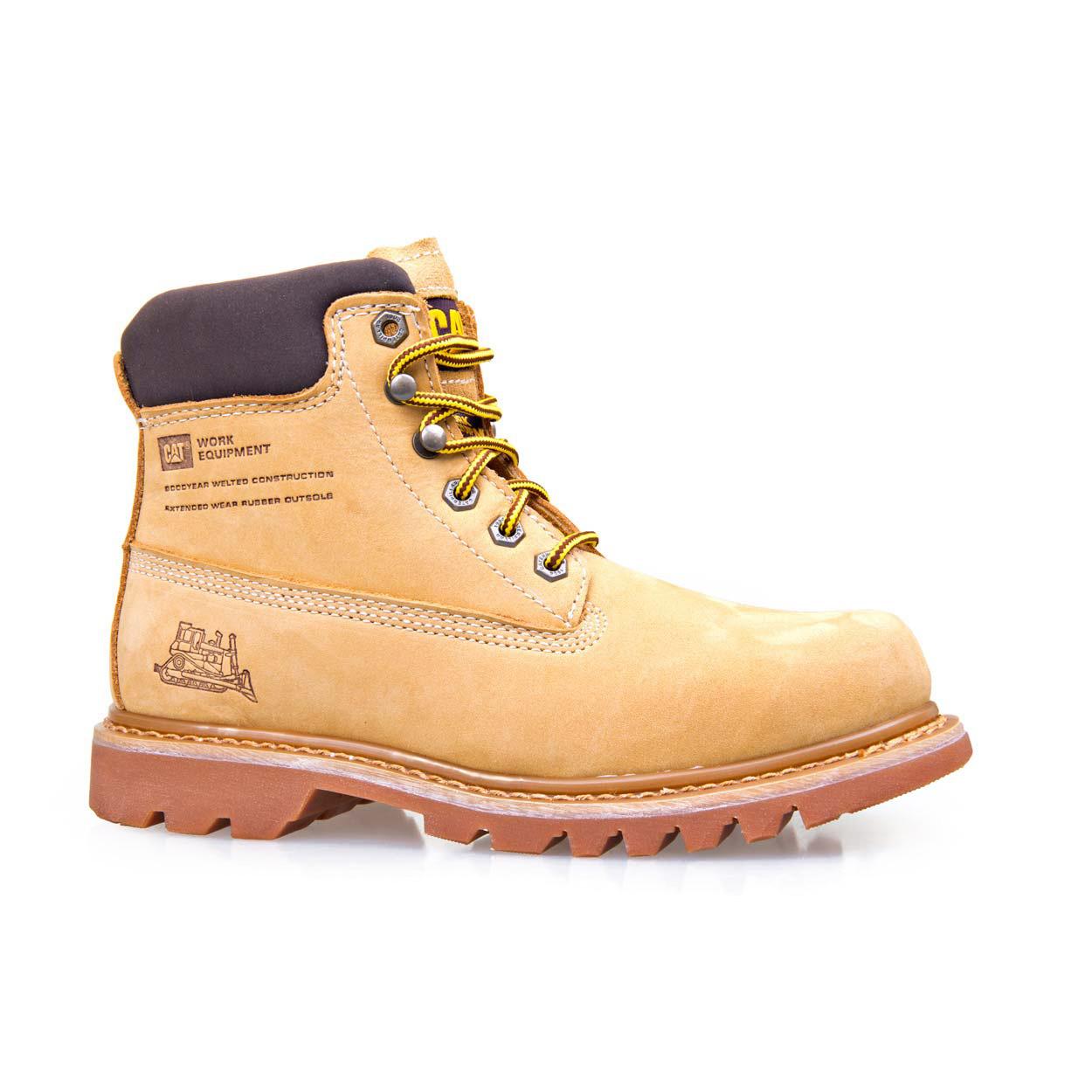 dbe50872 Bruiser - Honey nubuck - Mens - CAT Footwear