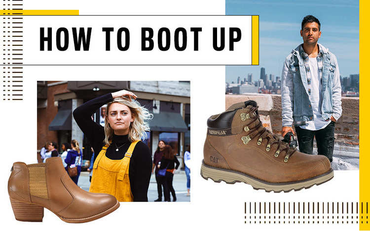 How To Boot Up For Winter Men And Womens Boots Cat
